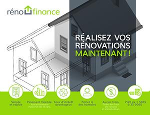 Dépliant Réno Finance
